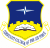 Community College of the Air Force Shield Color clip art