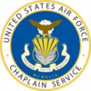 USAF Chaplain Service Shield clip art