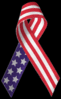 USA ribbon clip art