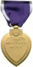 US military Purple Heart back clip art