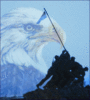 US military eagle bgimage 1 clip art