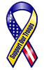 support our troops ribbon multi clip art