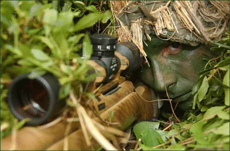 soldier army military marine sniper