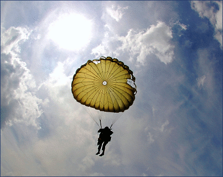 soldier army military Parachute training for Ranger