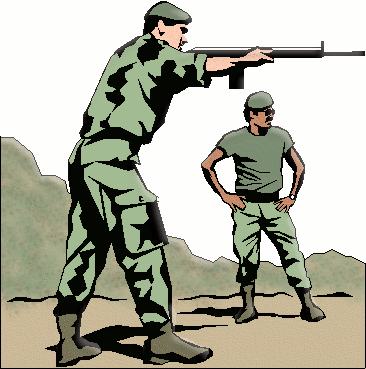 soldier army military shooting instructions