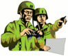 soldier army military soldier 3 clip art