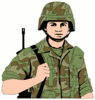 soldier army military soldier 4 clip art