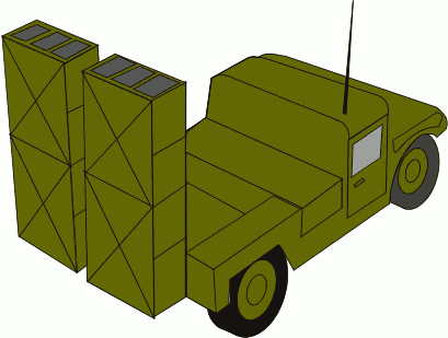 military army vehicle 035