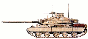 military army vehicle AMX 30