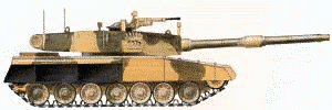 military army vehicle Arjun Mk 1