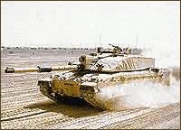 military army vehicle Challenger 2