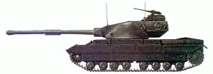 military army vehicle Conqueror Tank