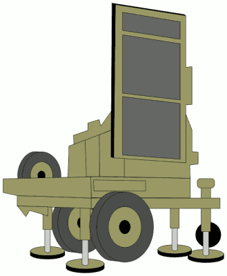 military army vehicle FireFighter radar