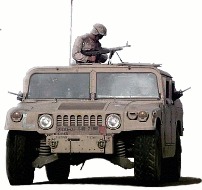 military army vehicle HMMWV 1 Marines