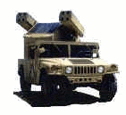 military army vehicle HMMWV Avenger