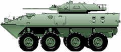 military army vehicle LAV25