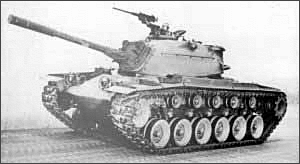 military army vehicle M48 MBT