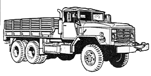 military army vehicle M9265tong