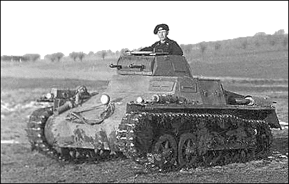 military army vehicle Panzer 1