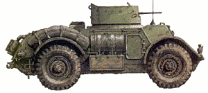 military army vehicle T17E1