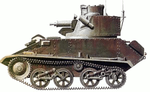 military army vehicle Vickers Light Tank