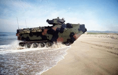 military army vehicle AAV