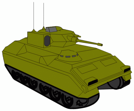 military army vehicle Bradley