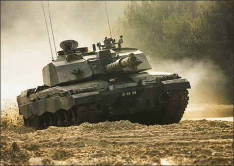 military army vehicle Challenger II