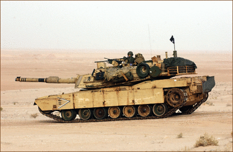 military army vehicle M1-A1 Abrams 1