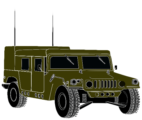 military army vehicle hummer 05