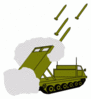 military army vehicle 0002 clip art