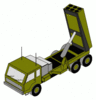 military army vehicle 0003 clip art