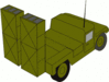 military army vehicle 035 clip art