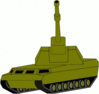 military army vehicle 049 clip art