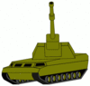 military army vehicle CRUSAD4 clip art