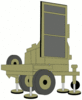 military army vehicle FireFighter radar clip art