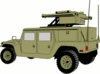 military army vehicle HMMWVAD clip art
