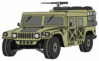 military army vehicle HMMWVY clip art