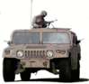 military army vehicle HMMWV 1 Marines clip art