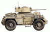 military army vehicle Humber Mk I clip art