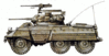 military army vehicle M8 clip art