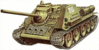 military army vehicle SU 85 clip art