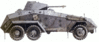 military army vehicle SdKfz 231 clip art