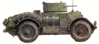 military army vehicle T17E1 clip art