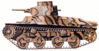 military army vehicle Type 95 clip art