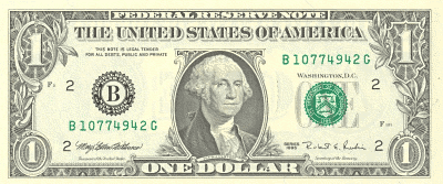 US 1Dollar front