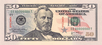 US 50Dollar front