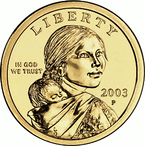 US Dollar Coin front