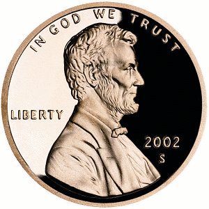 US Penny front