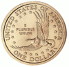 US Dollar Coin back clip art
